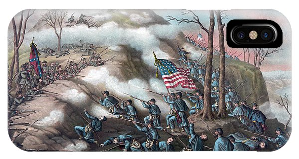 Allison iPhone Case - The Battle Of Lookout Mountain by American School
