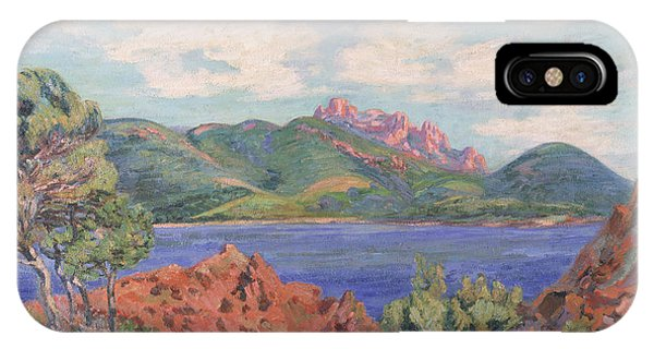The Bay Of Agay IPhone Case