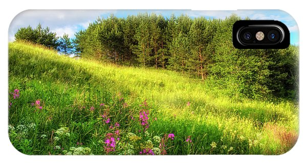 Salo iPhone Case - The Beach Meadow by Veikko Suikkanen