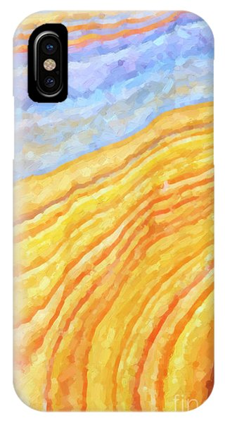 Tidal iPhone Case - The Beach by Tim Gainey