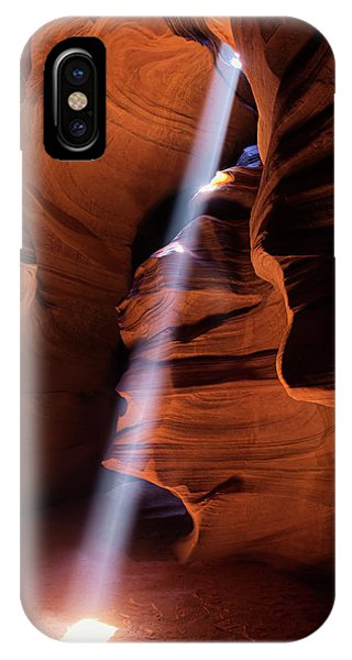 The Beam Of Light IPhone Case