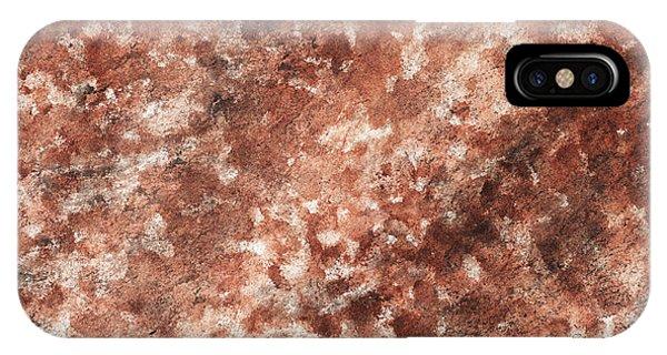 Organic Abstraction iPhone Case - The Beams Of Light Beige Abstract by Irina Sztukowski