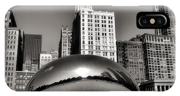 Chicago iPhone Case - The Bean - 3 by Ely Arsha