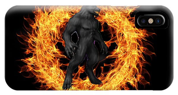 The Beast Emerges From The Ring Of Fire IPhone Case