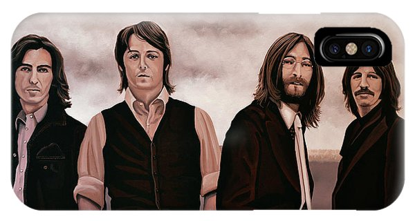 Harrison iPhone Case - The Beatles 3 by Paul Meijering