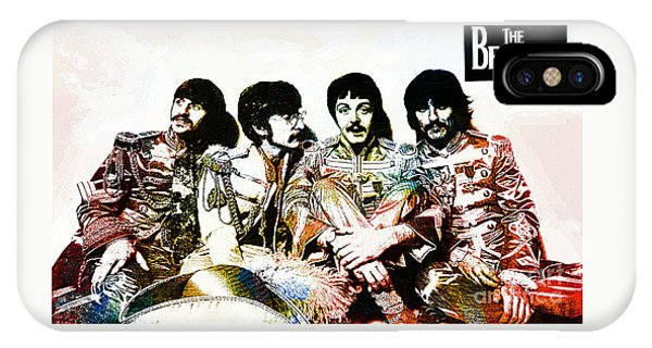 The Beatles--sargent Peppers Lonely Hearts Club Band IPhone Case