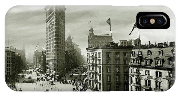 The Beautiful Flatiron Building Circa 1902 IPhone Case