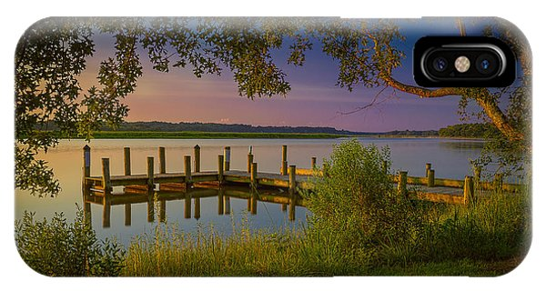 IPhone Case featuring the photograph The Beautiful Patuxent by Cindy Lark Hartman