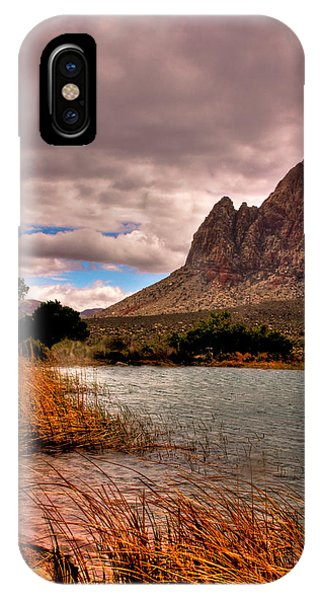 The Beautiful Red Rock Canyon In Nevada IPhone Case