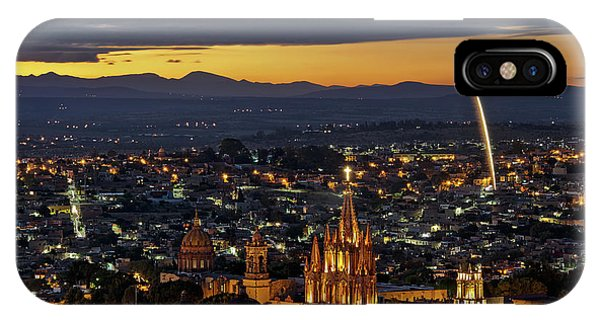 The Beautiful Spanish Colonial City Of San Miguel De Allende, Mexico IPhone Case
