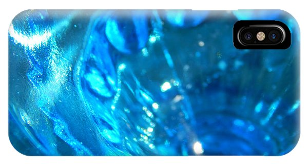 The Beauty Of Blue Glass IPhone Case