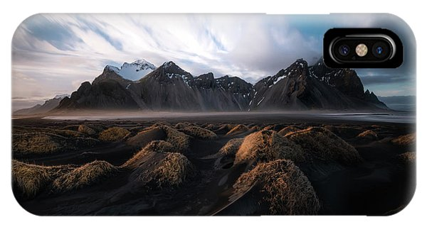 Reindeer iPhone Case - the Beauty of Iceland by Larry Marshall