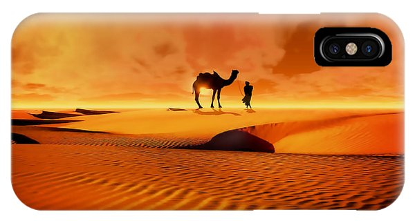 The Bedouin IPhone Case