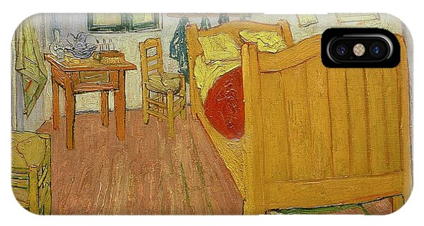 Table iPhone Case - The Bedroom by Vincent van Gogh