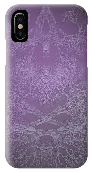 The Beginning Tree 1 Hybrid 1 IPhone Case