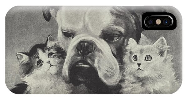 1 iPhone Case - The Best Of Friends by Lilian Cheviot