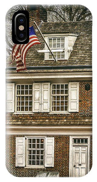 The Betsy Ross House IPhone Case