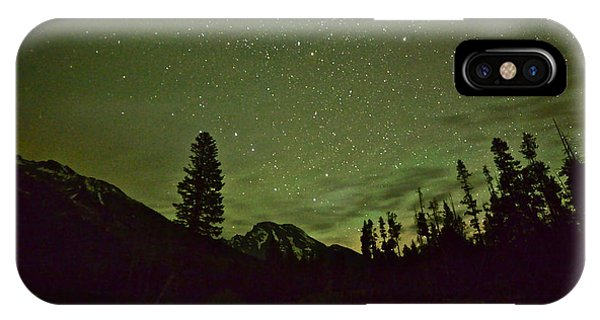 The Big Dipper Over Mount Moran IPhone Case