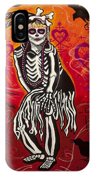 Voodoo iPhone Case - The Big Queen by Mardi Claw