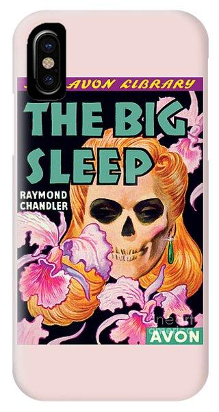The Big Sleep IPhone Case