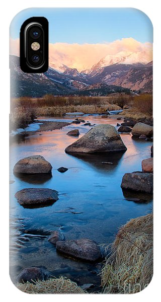 The Big Thompson River Flows Through Rocky Mountain National Par IPhone Case
