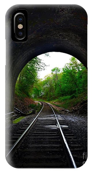 The Big Tunnel IPhone Case