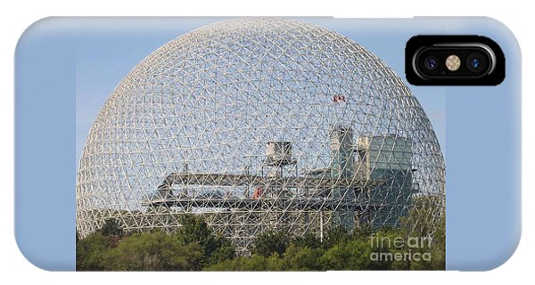 The Biosphere  Ile Sainte-helene Montreal Quebec IPhone Case