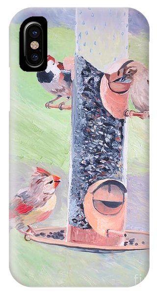 The Bird Feeder IPhone Case