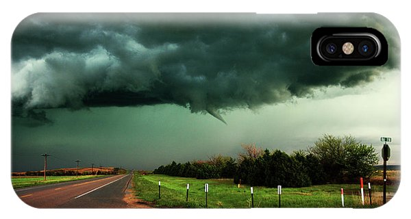 The Birth Of A Funnel Cloud IPhone Case