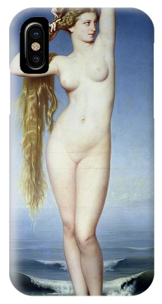 Goddess iPhone Case - The Birth Of Venus by Eugene Emmanuel Amaury Duval