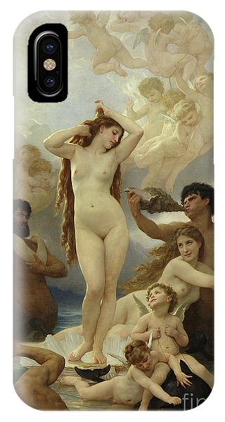 Beautiful iPhone Case - The Birth Of Venus by William-Adolphe Bouguereau