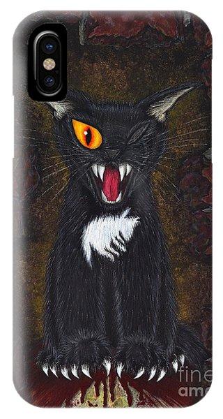 The Black Cat Edgar Allan Poe IPhone Case