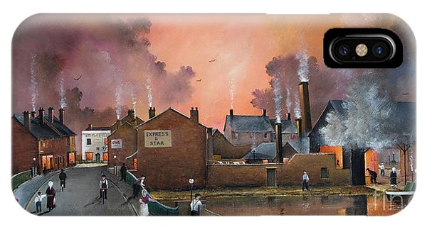 The Black Country Village IPhone Case