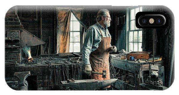 The Blacksmith - Smith IPhone Case