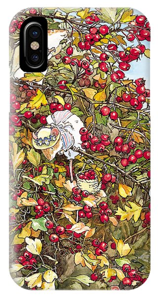 The Blackthorn Bush IPhone Case