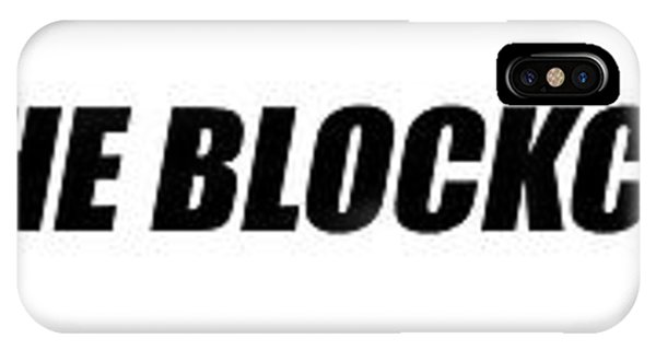 Capitalism iPhone Case - The Blockchain Train by Daniel Hagerman