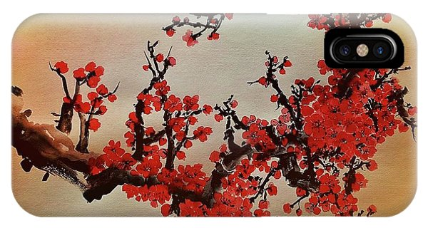 The Bloom Of Cherry Blossom IPhone Case
