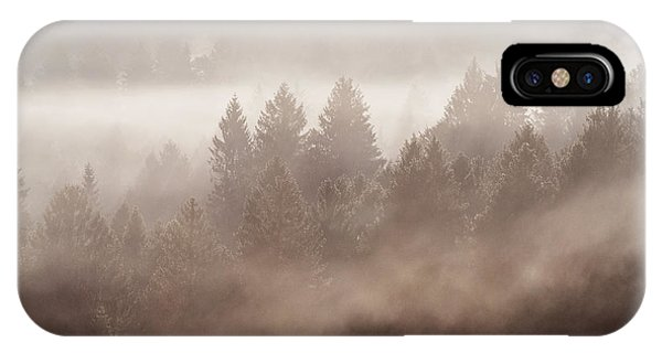 The Blow Of The Forest IPhone Case