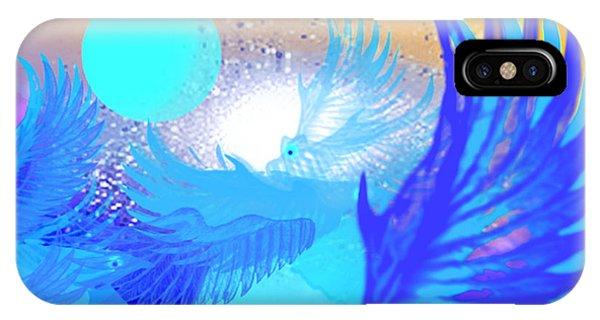 The Blue Avians IPhone Case