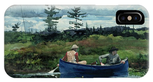 20th Century Man iPhone Case - The Blue Boat by Winslow Homer