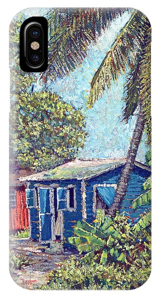 The Blue Cottage IPhone Case