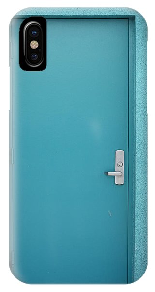The Blue Door Phone Case by Carl Purcell