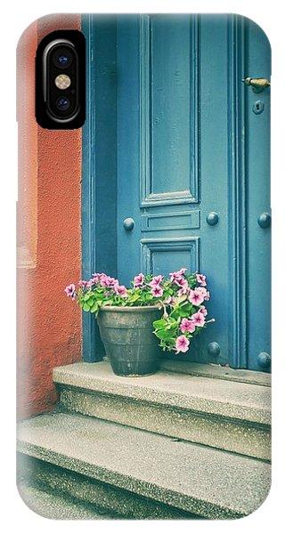 The Blue Door IPhone Case