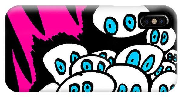 The Blue Eyed Army Phone Case by Jera Sky