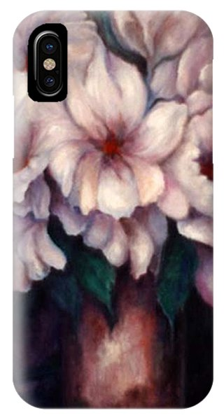 The Blue Flowers IPhone Case