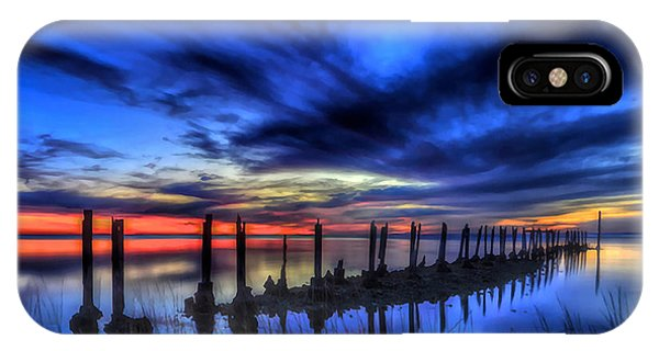 The Blue Hour Comes To St. Marks #1 IPhone Case