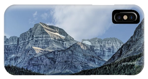 The Blue Mountains Of Glacier National Park IPhone Case