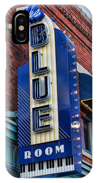 Culture Club iPhone Case - The Blue Room Sign by Steven Bateson