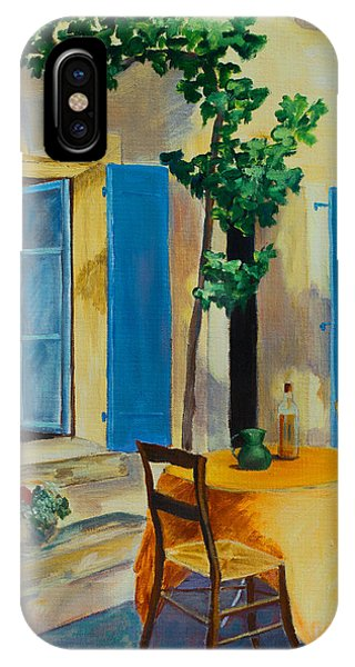 The Blue Shutters IPhone Case