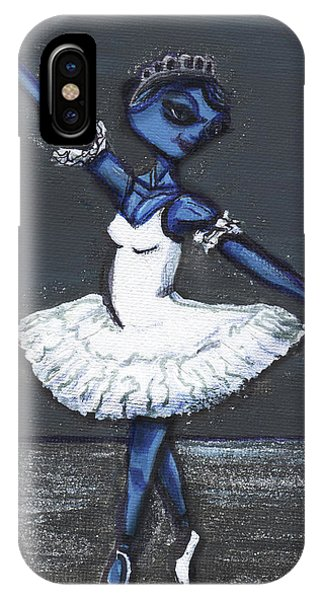 The Blue Swan IPhone Case